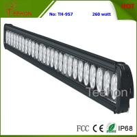 Best 260W 43 Inch Single-Row LED Light Bar for Commercial Vehicles wholesale