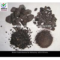 China Brown Fused Alumina with high purity for the  material of  blast furnace \ hot air furnace series combination brick on sale