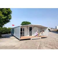 Best Fireproof Low Cost Foldable Container House , Mobile Tiny House For Living wholesale
