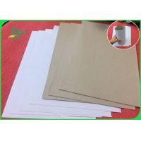Best Recycled Wood Pulp White Coated Duplex Board With Grey Back For Notebook wholesale