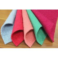Quality 50 Wool 50 Polyester Wool Fleece Fabric For Blankets Long - Lasting Feature for sale
