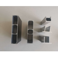 Best Extruded 6063 T5 0.08MM Curtain Wall Aluminum Frame Profile wholesale