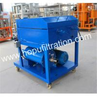 Buy cheap Movable Plate And Frame Oil Purifier,Press Paper Lube Oil Filtration Machine from wholesalers