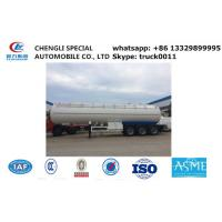 Best ASME lpg gas trailer with sun-shield for sale, factory direct sale cheapest propane gas trailer with sunshield cover wholesale