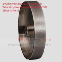 Best Electroplated CBN Grinding Wheel For Woodturning Tools miya@moresuperhard.com wholesale