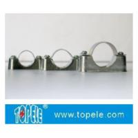 Best BS4568 / BS31 Steel Conduit Fittings Carbon Steel Spacer Bar Saddle With Base wholesale