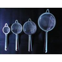 China Stainless Steel Mesh Tea Strainer with A Hole in the Handle on sale