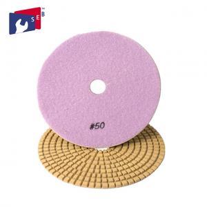 Best Flexible Square Diamond Polishing Pads Nylon Sponge 16 - 120 Mm Aperture wholesale