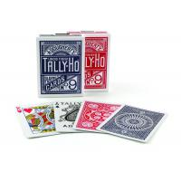 Tally-Ho Marked Playing Cards Plastic Invisible Ink Poker Cheating Cards
