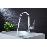 Best Brass Body Basic Kitchen Faucet Deck Mounted Mixer Rotate Water Outlet Polished wholesale
