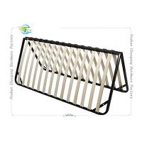 Best Folded Metal Slatted Bed Base Frame For King Size / Queen Size Mattrress wholesale