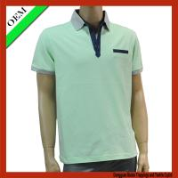 China Pique polo t-shirt , 100%cotton short sleeve polo t-shirt on sale
