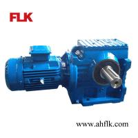 Best Right Angle Solid shaft Helical/Worm gear reducer S97 gearbox and motor wholesale