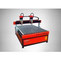 China High Speed CNC Router Machine 4 Heads Square Rail Multi - Spindle Engraver on sale