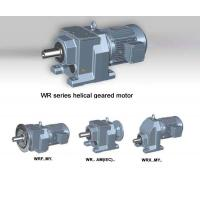 China WR series Helical Geared Motor  & gear box & gear reducer on sale
