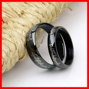 China titanium rings for men on sale