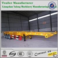 Best skeleton semi trailer/container chassis semi trailer/40ft container skeleton semi trailer wholesale
