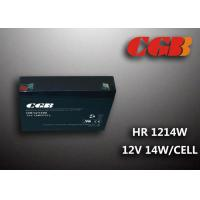 Best HR1214W  12V 3AH Alarm System Batteries , AGM Valve Regulated Deep Cycle Rechargeable Battery wholesale