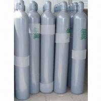 China Helium Gas Cylinder with 150bar/15mPa WP and High Pressure for Industry, Made of Seamless Steel on sale