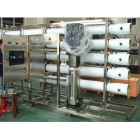 Best PET Glass Bottle RO Water Treatment Systems in Stainless Steel , Water Treatment Filter wholesale