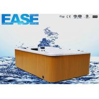 Best Acrylic whirlpool massage outdoor swim spa hot tub with 75pcs Jet pump, 38A, 3500mm × 2250mm × 1070mmH wholesale