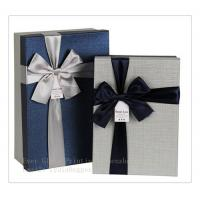 Best fineness box packing box jewelry box customize design exquisite box with ribbon wholesale