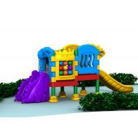 China Little Volume Outdoor Kids Plastic Playground Equipment For Doll With Single Layer on sale