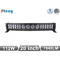 Best 20 curved led light bar for Off Road / truck / Fork lift / trains  , high durability wholesale