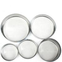 Best 10 - 600 Micron Wire Mesh Sieve Round Shape Stainless Steel Made wholesale