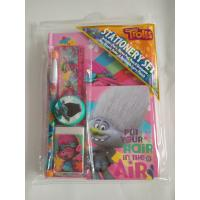 Best 6pcs Trolls personalized School Stationery Gift Sets With Pvc Bag wholesale