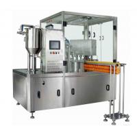 China Automatic Pneumatic Liquid Pouch Filling Machine With 2 Nozzles Injector on sale