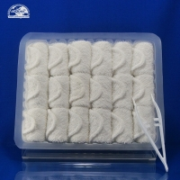 Best Cheap Custom small roll cotton disposable airline hand towel With Logo wholesale