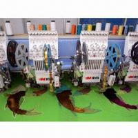 Best Multi-head Sequin Embroidery Machine with 1,000rpm High-speed wholesale