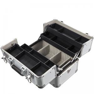 Best Portable Aluminium Beauty Case , Makeup Storage Boxes OEM ODM Available wholesale