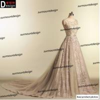 Best Elie Saab Real Pictures Beautiful Soft Tulle Beaded Long Lace Evening Dress 2015 Online Shopping wholesale