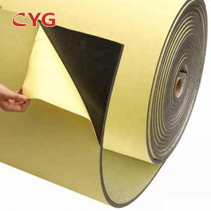 Best Rubber Fire Proof Polyethylene Foam Heat Insulation Roll Xpe / Ixpe With Alu wholesale