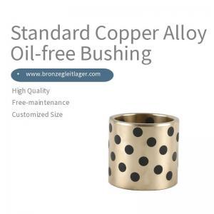 Best Standard Copper Alloy Oil-Free Bronze Bushing wholesale
