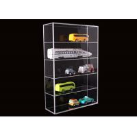 Best 5 Layer Clear Acrylic Display Stands Airplane Cars Model Storage Rack Customised wholesale