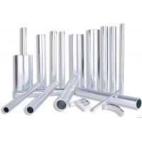Best 6082 Aluminum Rectangular Tubing , Industrial Moulding Thick Wall Aluminum Tubing wholesale