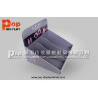 China E- flute Counter Display Stands Cupcake Related Countertop Custom wholesale