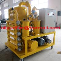 China Power Station transformers Oil Recycling Machine, Dielectric Oil Treatment Plant,Cable Oil Vacuum Dehydrator Purifier on sale