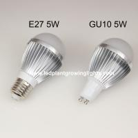 Best high efficiency B22 5W super bright led light bulbs 55 * 109mm with CE, Rohs passed wholesale