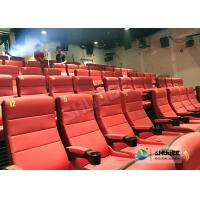 Best Safety 4D Movie Theater Equipment With Special Effect And Soft Sliver Screen wholesale