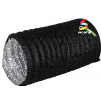 Best PVC Aluminum Portable Fire Rated Flexible Ducting With 3000 Pa Operating Pressure wholesale