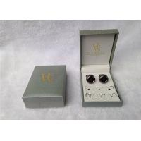 Ring Storage Cufflink Gift Boxes Personalized For Packing , Book - Type