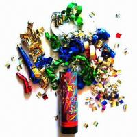 Buy cheap Confetti Shooter/Confetti Cannon, Powered by Spring from wholesalers