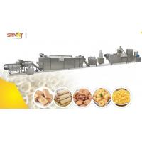 Best Caramel Popcorn / Puffed Corn Snack Making Machine SS Type 70KW Powered wholesale