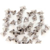 Best Silver Titanium Boy's Body Jewelry Parts Spike Nickel And Lead Free wholesale
