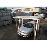 Best PV Carport Solar Mounting Systems  Aluminum Structure Solar Bracket  High Recyclable Value Lower Waste Disposal Costs wholesale