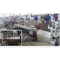 Best PPR Plastic Pipe Extrusion Line PLC Control For Chemical Industry wholesale